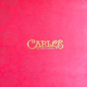 Carlos Santana Taupe Thigh high boots